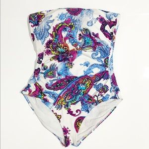 Tommy Bahama One Piece Swimsuit Paisley